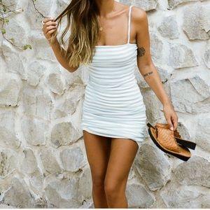 Stripe Cosmo Dress